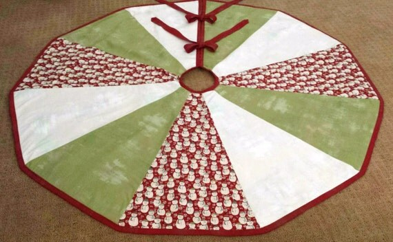 Snowman Christmas Tree Skirts Page Two Christmas Wikii