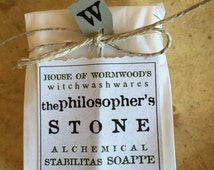 the PHILOSOPHER'S STONE  alchemical stabilitas soappe