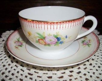 Vintage Noritake Tea Gift Set, Tea Set, Vintage Tea Set, Tea Cup, Vintage 1920's