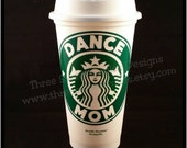 Starbucks Reusable Coffee Tumbler with Lid : Dance Mom