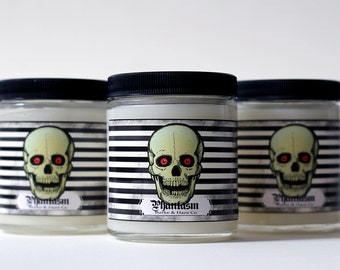 Halloween Candle - Skull - Coffee
