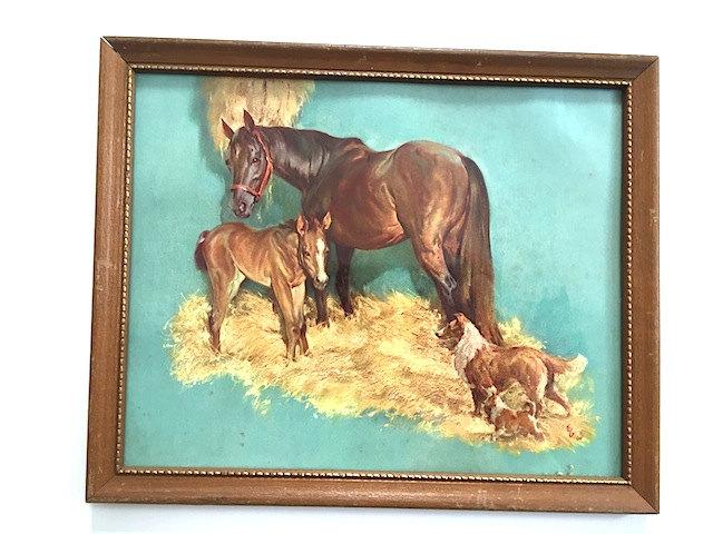 Horse Art Picture, Art, Home Decor, Wall Decor, For Bedroom, Horse Art Wall Decor, Horse Print, Lassie