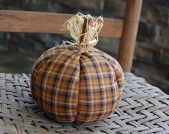 Homespun Fall pumpkin