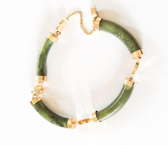 jade bracelet meaning longevity gold tone vintage