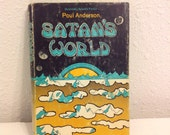 Satan's World by Poul Anderson, Vintage Science Fiction, First edition Hardcover with Book Jacket