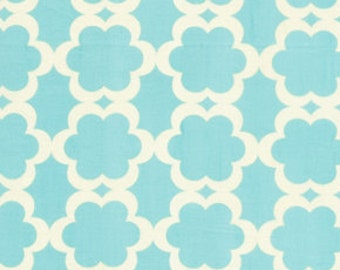 Kumari Holiday by Dena Designs for Free Spirit - Terika - Blue - 1/2 Yard Cotton Quilt Fabric 516