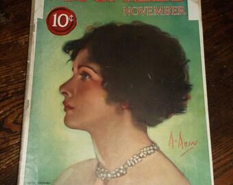 November 1923 Issue McCall's Magazine ~ NC Wyeth McMein Cover Vivaudou Mavis Advert Fashions King Tut Howard Carter Ethel Barrymore