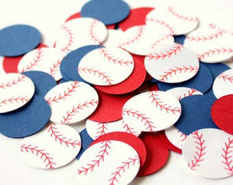 Baseball Confetti . Sports Themed Table Confetti . Diecuts. Baseball Party Decor. Baseball Decorations . Sports Confetti . Baseball Birthday