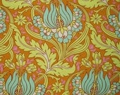 1/2 Yard - Soul Blossoms - Temple Tulips Cinnamon by Amy Butler for Rowan/Westminster Fabrics