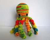 Crochet Octopus Soft Stuffed Toy Cephalopod Amigurumi