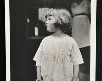 Original Antique Photograph Little Lady Madeline