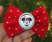Vintage Minnie Mouse hair bow