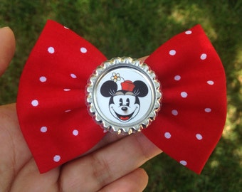 SALE Vintage Minnie Mouse hair bow