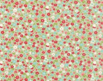 Vintage Picnic Wildflower Gray by Bonnie and Camille from Moda -1 yard