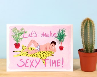 Let' Make Sexytime Valentine's Card