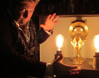 victorian mad science oddity  psychotropic mind control device