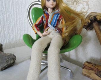 jodhpur type trousers and stripe shirt
