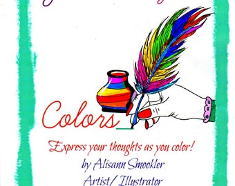Journal Your Colors - Coloring book for Adults - Journal - Coloring Book
