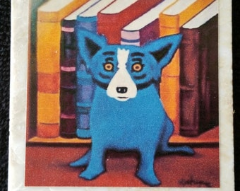Blue Dog New Orleans Coaster
