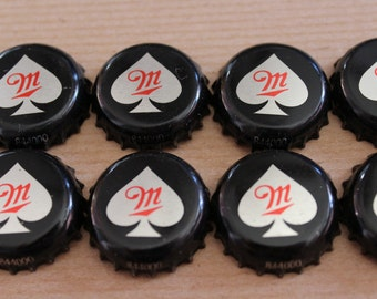 Miller Fortune Beer Bottle Caps, set of 12