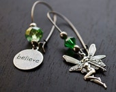 Fairy Believe Mismatched Earrings Whimsical Jewelry Magic