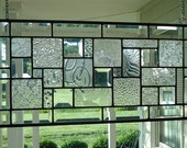 Stained Glass Window Panel Clear Textures and Bevels