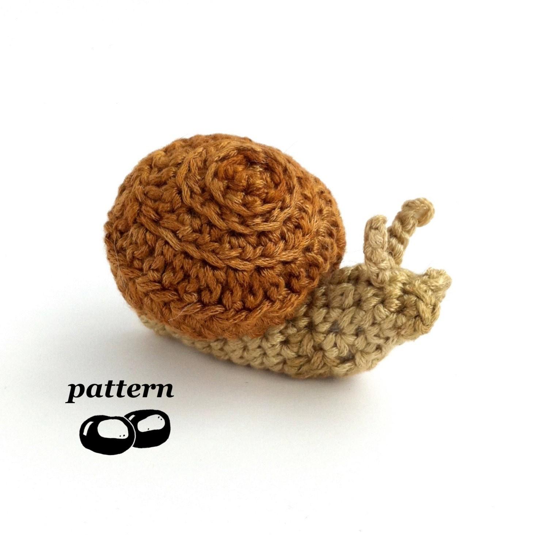 Newborn Snail Crochet Pattern Free : Snail Crochet Pattern / Crochet Snail Pattern / Crochet Slug