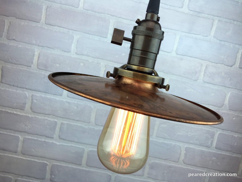 Barn Lighting Industrial Pendant Lights Copper Shade