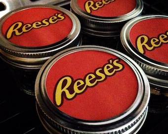 2 PACK Chocolate Peanut Butter Cupcakes in a Mason Jar, Reese Cake in Jar-Reese Peanut Butter Cup