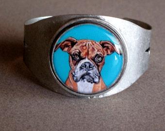 Boxer Handmade Cuff Bracelet
