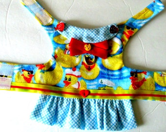 Flannel Dog Harness, Small Dog Vest Small Dog Harness, Made to Order Dog, Dog Harness, Small Dog Clothes, Pomernian Clothes, Yorkie Clothes