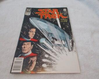 Vintage Comic Book -STAR TREK  No 7 -April 1990