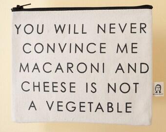 macaroni pouch