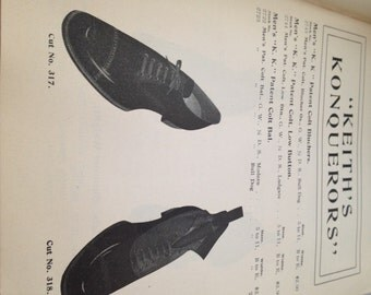 RARE 1902 Vintage SHOES Slippers and RUBBERS Catalogue Spring 1902 Merritt, Elliott & Co.