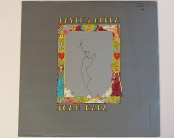 "Joan Baez - David's Album - Folk / Country - ""Green Green Grass of Home"" - Vanguard Stereo 1969 - Vintage Vinyl LP Record Album"