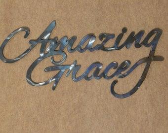 Amazing Grace Metal Wall Sculpture