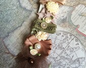 Flower Collage Lolita Headband