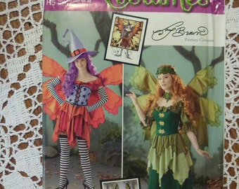 Simplicity COSTUMES Pattern 0211 Misses' Fairy Fantasy Costume in Sizes 14-22