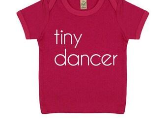 Baby Tiny Dancer Organic T-shirt | Pink