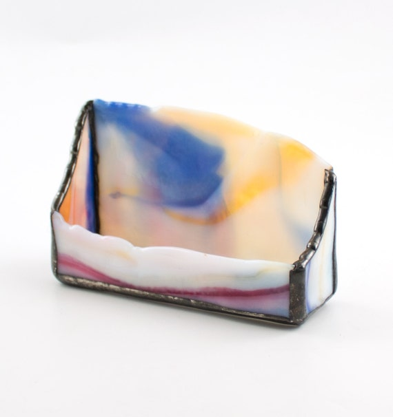 Unique business card holder modern desk accessories multi for Unusual business card holders