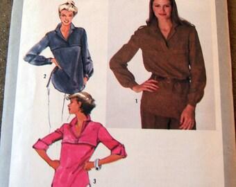 Simplicity 9269 vintage womans blouse size 10