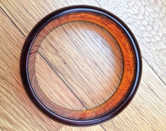 Bakelite - Translucent Tortoise Root-beer Bangle Bracelet / Tested