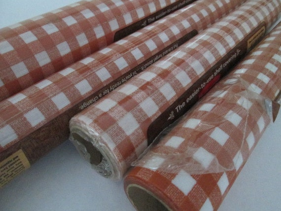 shelf liner paper 4 rolls gingham plaid contact paper drawer liner shelf paper 10342