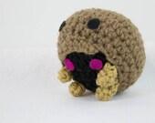 Crochet Pokemon Inspired Kabuto Amigurumi Plush