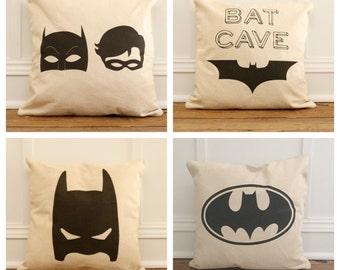 Vintage Batman Pillow Cover