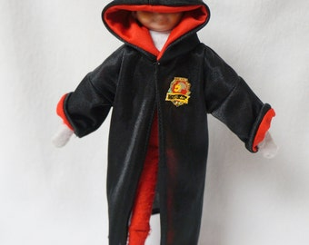 Harry Potter Costume for Elf Doll, Choose Any House
