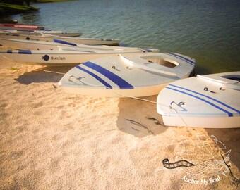 Boats, Boats, Boats Photograph - Nautical - Tropical - Islands - Coastal - Quote - Pastels - Print - Stunning Color - Wall Art