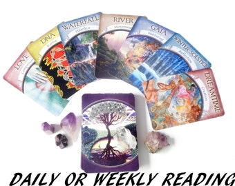 Daily Tarot Card Reading ~ Weekly Tarot Reading ~ Psychic Reading ~ Future Reading ~ Intuitive Reading ~ Daily Guidance ~ Divine Guidance