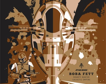 Star Wars - Boba Fett - - - A1 - - - Poster - ONLY 1 LEFT