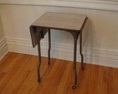 Industrial Metal Typing Table/Desk